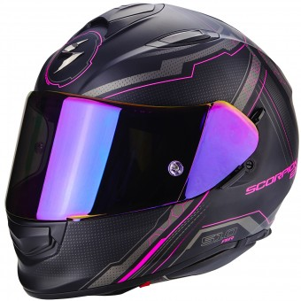 Casque Integrale Scorpion Exo 510 Air Sync Matt Black Pink