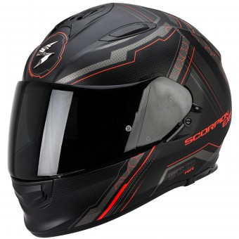 Casque Integrale Scorpion Exo 510 Air Sync Matte Black Neon Red