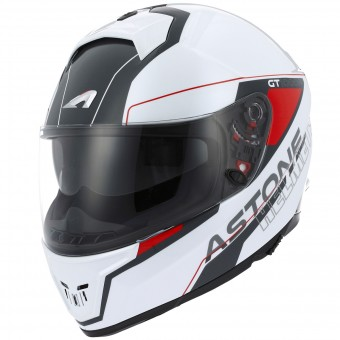 Casque Integrale Astone GT 1000F Gamatron Red White