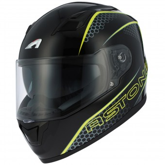 Casque Integrale Astone GT 900 Pulse Yellow