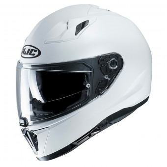 Casque Integrale HJC i70 Semi Flat Pearl White