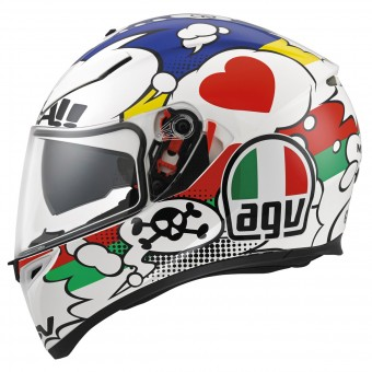 Casque Integrale AGV K3 SV Comic