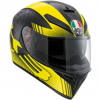Casque Integrale AGV K3 SV Glimpse Black Yellow