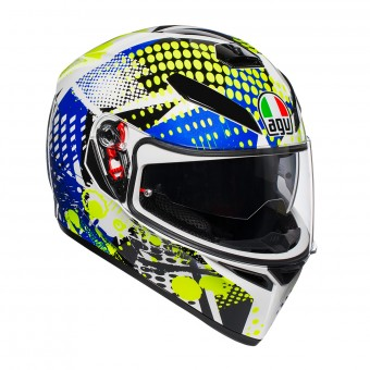 Casque Integrale AGV K3 SV Pop Bianco Blu