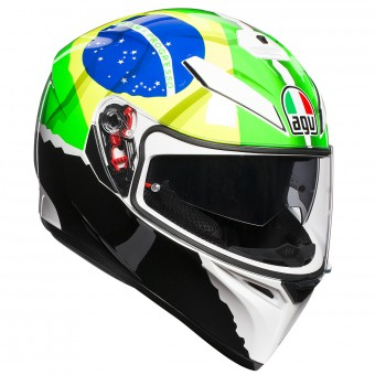 Casque Integrale AGV K3 SV Replica Morbidelli 2017
