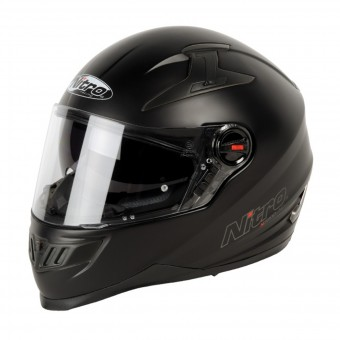 Casque Integrale Nitro N2200 Uno Raso Black (02)