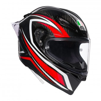 Casque Integrale AGV Pista GP R Staccata Carbon Rosso