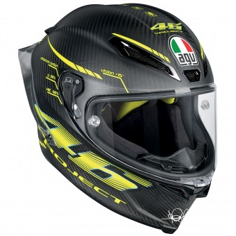 Casque Integrale AGV Pista GP R Top Project 46 2.0 Carbon Matt