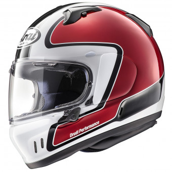 Casque Integrale Arai Renegade-V Outline Rouge