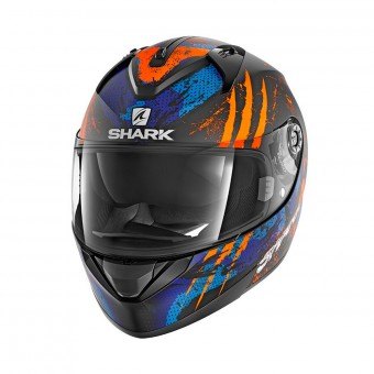 Casque Integrale Shark Ridill 1.2 Threezy Mat KOB