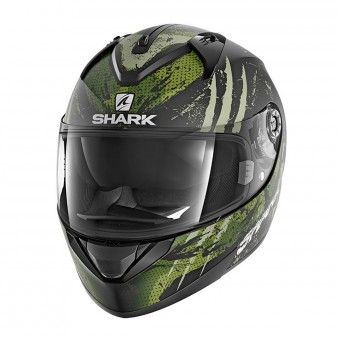 Casque Integrale Shark Ridill 1.2 Threezy Mat KWG
