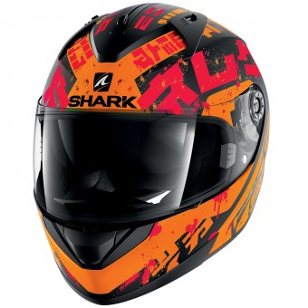 Casque Integrale Shark Ridill Kengal Mat KOR