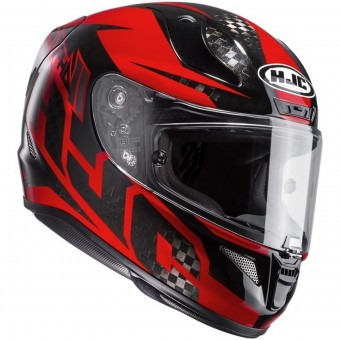 Casque Integrale HJC RPHA 11 Carbon Lowin MC1