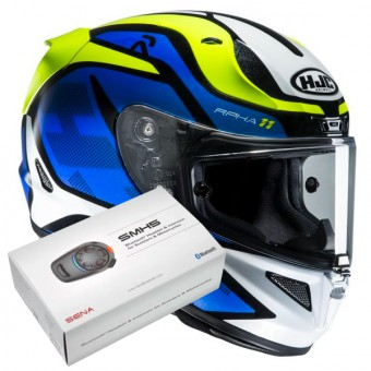 Casque Integrale HJC RPHA 11 Deroka MC2