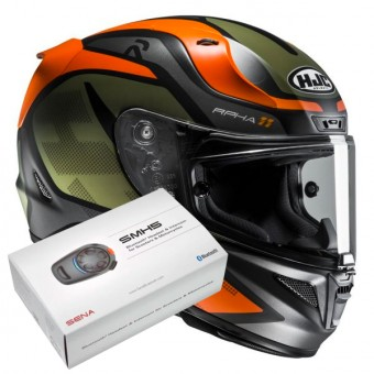 Casque Integrale HJC RPHA 11 Deroka MC7SF