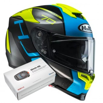 Casque Integrale HJC RPHA 70 Vias MC2SF