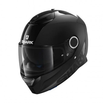 Casque Integrale Shark Spartan 1.2 Dual Black BLK