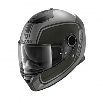 Casque Integrale Shark Spartan 1.2 Priona Mat AKA