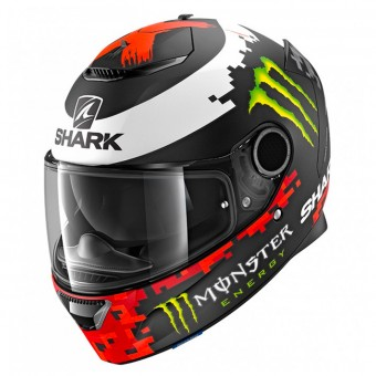 Casque Integrale Shark Spartan 1.2 Replica Lorenzo Monster 2018 Mat KRG
