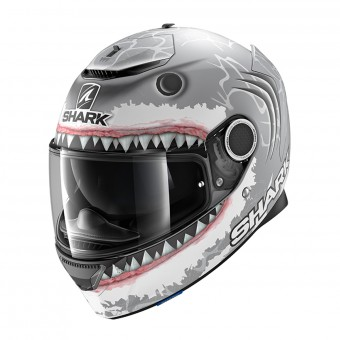 Casque Integrale Shark Spartan 1.2 Replica Lorenzo White Shark Mat SWA