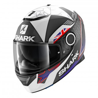 Casque Integrale Shark Spartan 1.2 Replica Redding 2017 Mat KBW