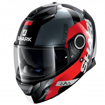 Casque Integrale Shark Spartan Apics KRA