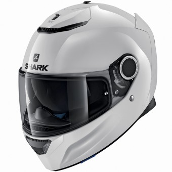 Casque Integrale Shark Spartan Blank WHU