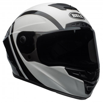 Casque Integrale Bell Star Mips Tantrum Matte Black White Titanium