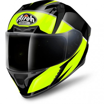 Casque Integrale Airoh Valor Eclipse Yellow