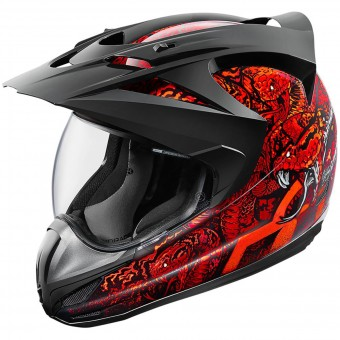 Casque Integrale ICON Variant Cottonmouth Red