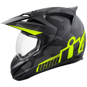Casque Integrale ICON Variant Deployed Black