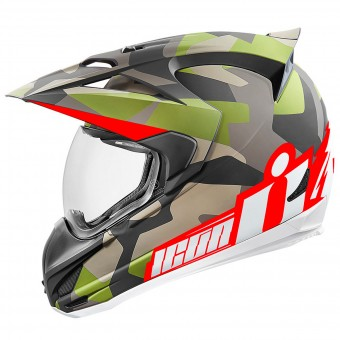 Casque Integrale ICON Variant Deployed Camo