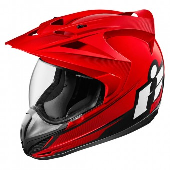 Casque Integrale ICON Variant Double Stack Red