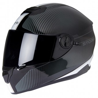 Casque Integrale Stormer Versus Strip White