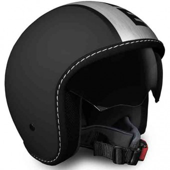 Casque Jet Momo Design Blade Black Matt Satin