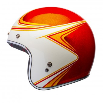 Casque Jet Bell Custom 500 Copperhead Orange