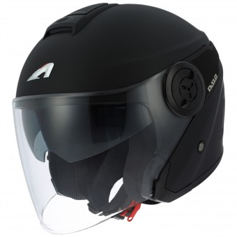 Casque Jet Astone DJ10 Matt Black