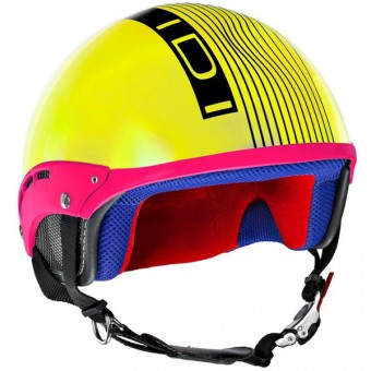 Casque Jet IDI Mini Stripes Giallo