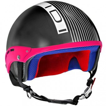 Casque Jet IDI Mini Stripes Nero Opaco