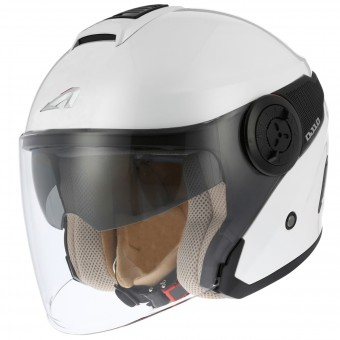 Casque Jet Astone DJ10 White Black
