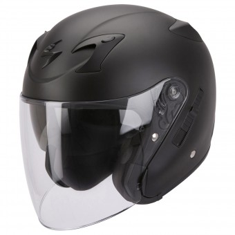 Casque Jet Scorpion EXO 220 Nero Opaco