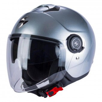 Casque Jet Scorpion Exo City Argento