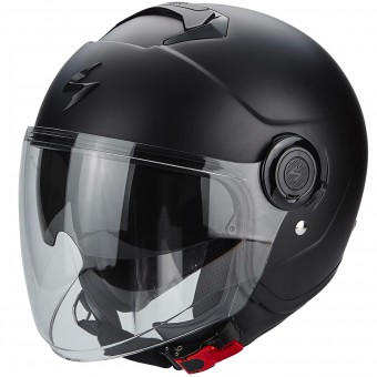 Casque Jet Scorpion Exo City Matt Black