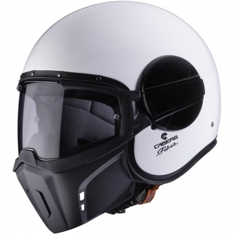 Casque Jet Caberg Ghost White