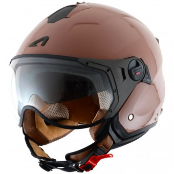 Casque Jet Astone Minijet Sport Coffee