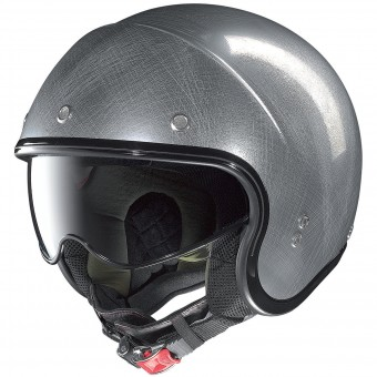 Casque Jet Nolan N21 Durango Scratched Chrome 34