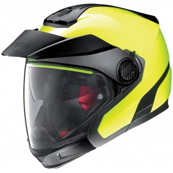 Casque Modulare Crossover Nolan N40 5 GT Hi-Visibility N-Com Fluo Yellow