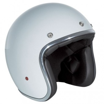 Casque Jet Stormer Pearl Bianco
