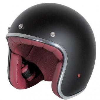 Casque Jet Stormer Pearl Nero Opaco
