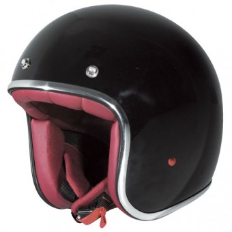 Casque Jet Stormer Pearl Nero